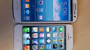 Samsung Galaxy S3 vs Apple iPhone 5