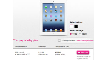 T-Mobile new iPad pricing plans