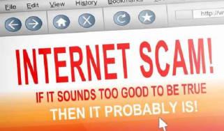 Internet scam