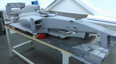 Marussia F1 50 per cent scale model