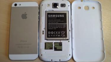 Samsung Galaxy S3 vs Apple iPhone 5 - Battery