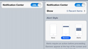 Step 5: Notification Setting settings