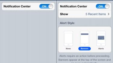 Step 5: Notification Setting settings