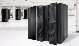 Large IBM computers