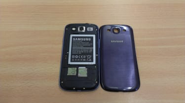 Samsung Galaxy S3 - Removable back
