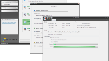 The bundled NovaBackup software supports Windows servers and workstations and the price includes a 10 user license.