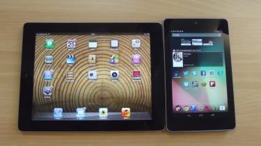 iPad vs Nexus