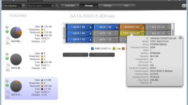 Netgear ReadyData 5200 - Web interface