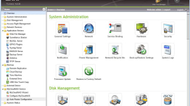 The web management interface is well designed and provides easy access to the impressive range of features.