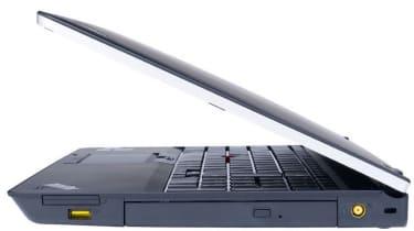 The right-hand side of the Lenovo ThinkPad E520