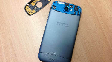 HTC One S - back