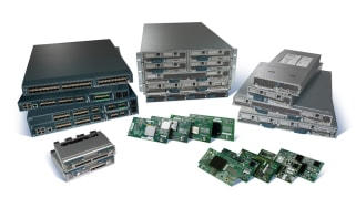 The various components of the Cisco Unified Computing System