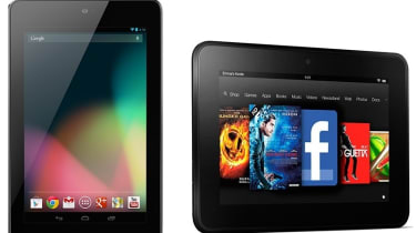 Amazon Kindle Fire HD vs Google Nexus