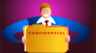 Snooping - confidential data