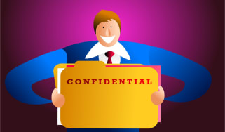 Snooping - confidential data
