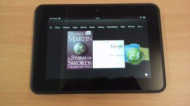 Kindle Fire HD vs Google Nexus 7 - Amazon customisation