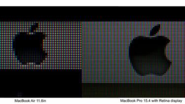 Apple MacBook Pro with Retina display vs 11in MacBook Air