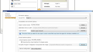 Symantec Backup 2012 - Backup conversion