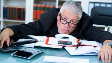Frustrated civil servant