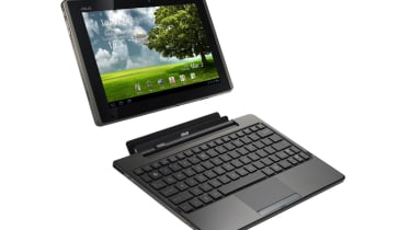 The Asus Eee Pad Transformer and its keyboard dock