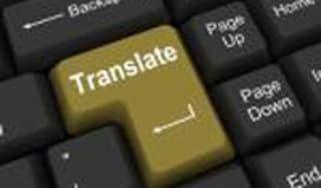 Translate button on keyboard