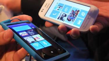 The Nokia Lumia 800 and 710
