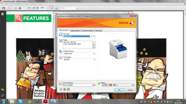 Xerox - Print interface