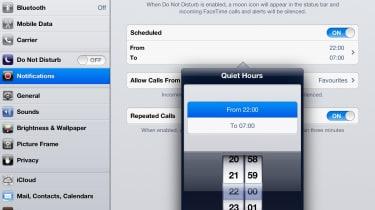 Apple iOS 6 - Do Not Disturb