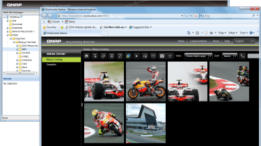 Using MyCloudNAS allowed us to present the Web File Manager and Multimedia Station to remote users.
