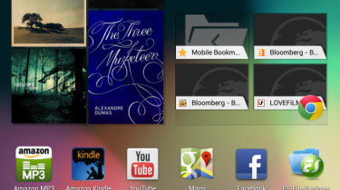 Google Nexus 7 - homescreen
