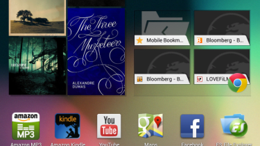 Google Nexus 7 - homescreen