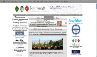 NetEvents home page