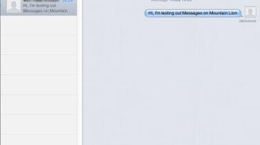 Apple Mac OS X Mountain Lion - Messages