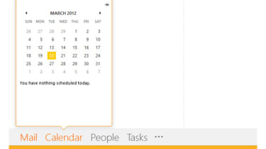 Outlook peek screenshot