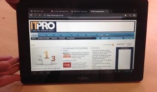 Fujitsu M532 Android tablet - Internet