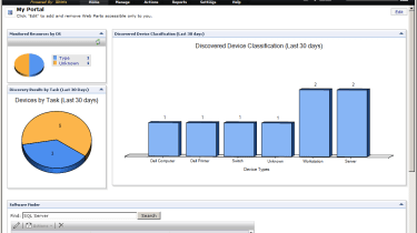 You can customise the DMC web portal with your personal preferences and design your own network views.