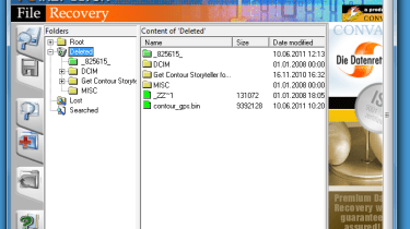 Step 5: Scan the selected drive for deleted files