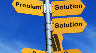 Problems and solutions sign