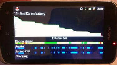 Huawei Ascend G300 - Battery breakdown