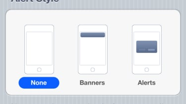 The new notifications system in iOS 5 is surprisingly customisable.
