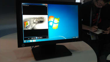 HP t410 All-in-One - Virtual desktop