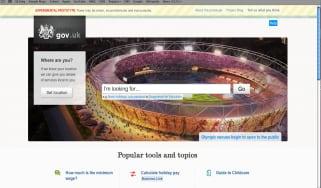 alpha.gov website homepage