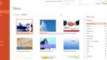 PowerPoint 2013 - Templates