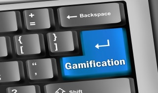 Gamification keyboard