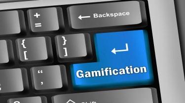 Gamification keyboard