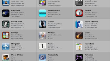 iPad vs Nexus - iPad apps