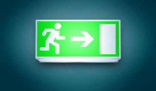 Exit doors