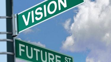 Future vision road sign