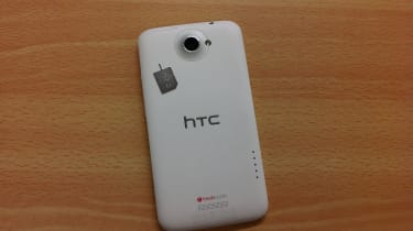HTC One X - back