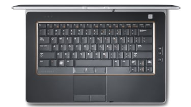 The keyboard of the Dell Latitude E6420.